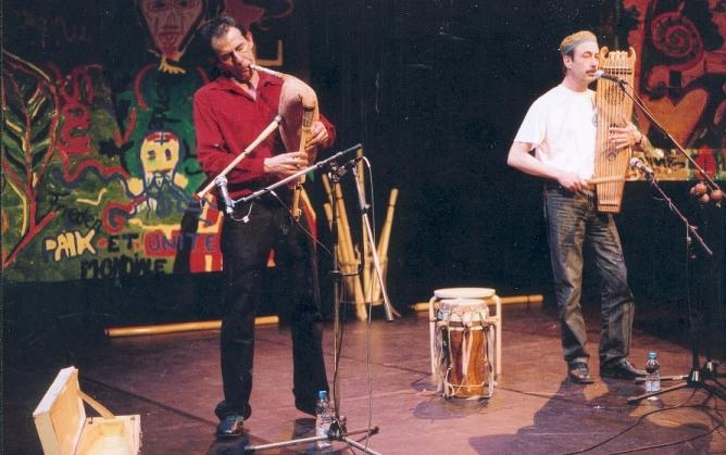 Concert avec Philippe Rigal, Toulouse 2005
