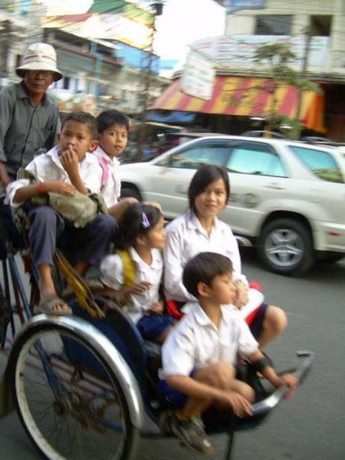 21. Tuctuc - Cambodge 2009