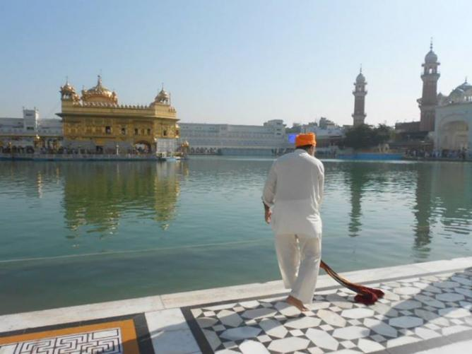 4. Golden temple -Inde 2014