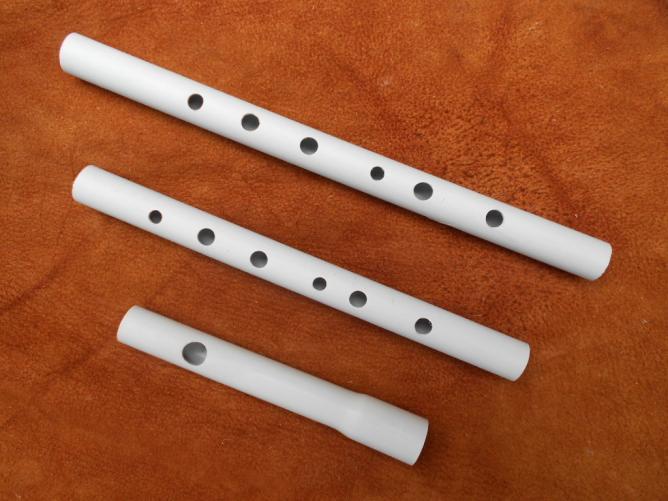 fifre PVC à 2 corps : Ré et Do soprano